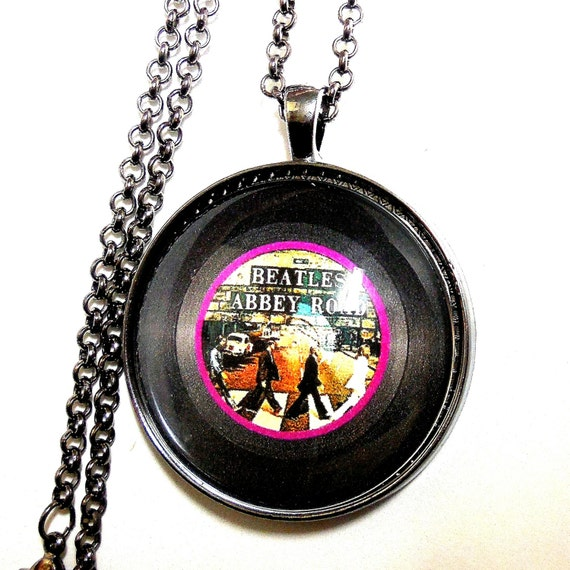 Abbey Road The Beatles Art Print Pendant By Riversongsjewelry