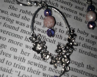Flower Chandelier Earrings