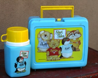Vintage Shirt Tales Lunchbox from 1980