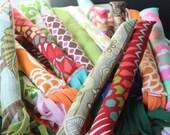 Bunny Kick Catnip Toy Colorful Fabrics, Assorted Styles Organic Catnip Filled