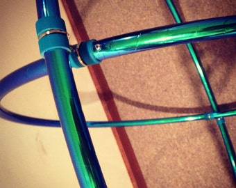CUSTOM // Polypro Gyro Doop w/ choice of Specialty Deco Tape (2 Hoops)