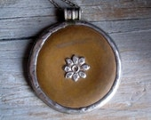 Rare Ochre Kasoti pendant.