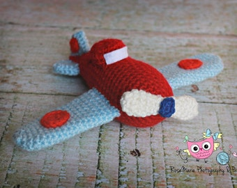 Made to order Crochet airplane