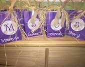 Reserved listing for Tabby.   Custom Gift bags.   Made to Order.  Bridesmaid CuStOm Gift Bags.