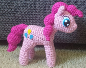 Pinkie Pie Pony Crochet Pattern