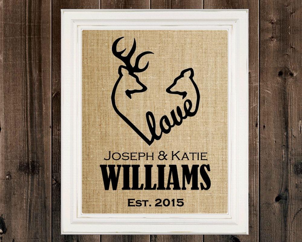 Pink camo bathroom decor - Deer Heart Sign Wedding Gift Housewarming Gift Buck Art Hunter Camo Decor Personalized Deer Hunting Deer