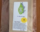 20 Pack #2 Tea Filters