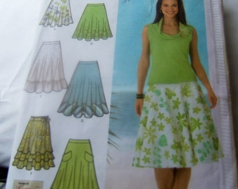 Simplicity 4546 uncut size 12, 14, 16 and 18 womens skirt