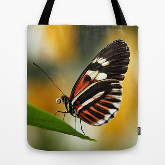 Everyday Bag, Heliconius Butterfly, Tote Bag, Photo, Tote, School Bag, Butterflies, Nature Lover, Teacher Gift, Unique Gift, Travel Bag,