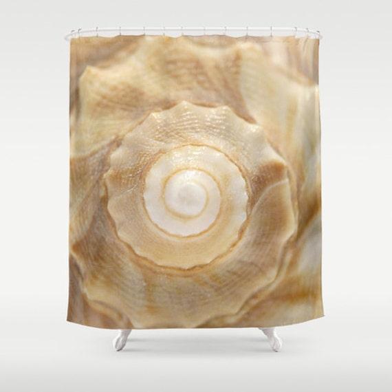 Lightning Whelk, Shower Curtain, Photography, Shell, Beach, Home Decor, Bathroom Art, Bathroom Accessories, Housewarming Gift, Beach Decor
