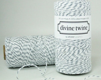 SALE Divine Twine Oyster Grey 240 yds NEW