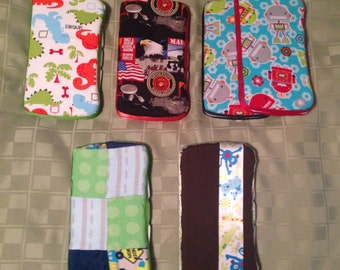 Custom Travel Wipe Case- Marines, Dinosaurs, Patchwork, Robots, Boys, Baby, Toddler, Custom