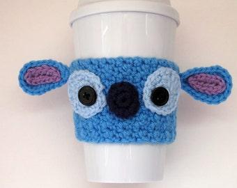 Crochet Stitch Coffee Cup Cozy
