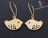 SALE 10% OFF: Cute Mod Bird Earrings Jewelry Dangle Earrings Drop Earrings Gift