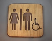 Handicapped Bathroom Sign