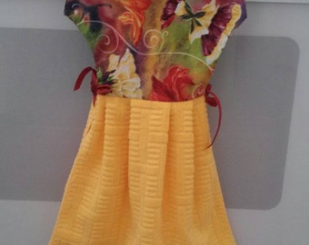 Towel/Kitchen Towel/dress type towel/kitchen decor/stove handel towel