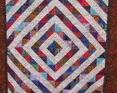 Blitzen Batik Lap quilt