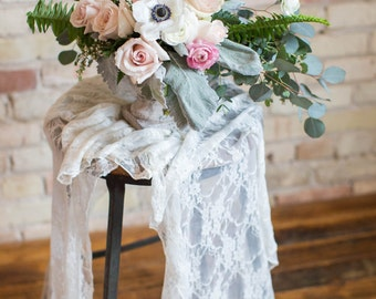 12 Lace Table Runners (Available in 2 colors & sizes)