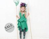 20% SALE Butterflies catcher - children leggings