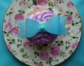 36 Wafer/Rice Edible Paper Gift Package Bow Toppers