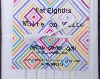 White-on-White Fat Eighth Bundle (WOW10FEB01)