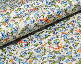 Rossi Traditional Florentine Style Paper - Birds and Butterflies