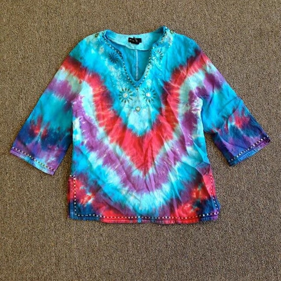 How To Tie Dye A Blouse 39