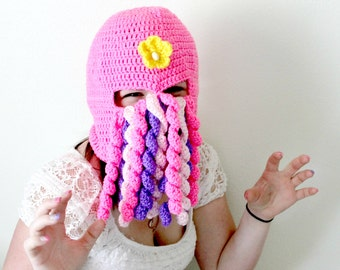 Dainty Feminine Creepy Tentacled Monster Mask-Cthulu Inspired