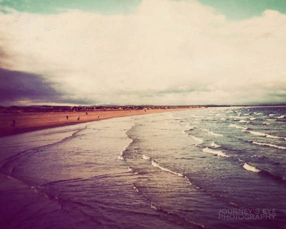 Clearance sale - Scotland photo, Seascape, landscape photograph, fine art photography, travel art, beach print - St. Andrews
