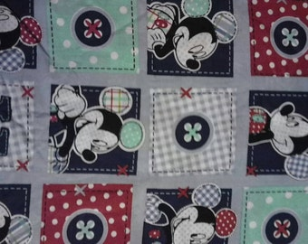 Mickey mouse block fabric