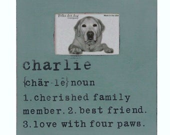 personalized pet frame, personalized dog frame, personalized frame