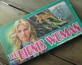 The Bionic Woman Vintage Board Game 1976
