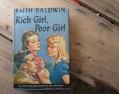 Vintage Pulp Fiction Rich Girl Poor Girl Faith Baldwin
