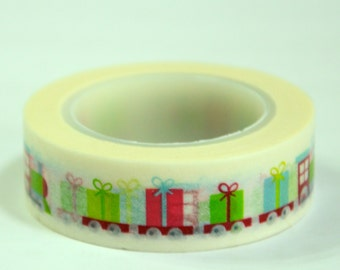 1 Roll of Japanese Washi Tape Roll-  Presents