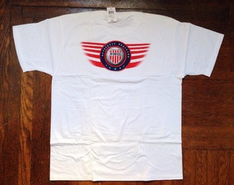vintage k-swiss shirt men's size large