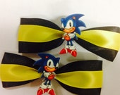 Green Hill Zone Hair Clips