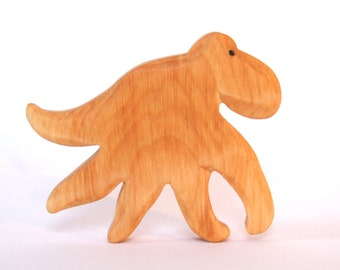 Wood Octopus Toy, Waldorf Imaginary Play, Ocean Creatures, Sea Animals, Hand Carved, Children's Wooden Toy, Eco Friendly Kids, Natural Toys