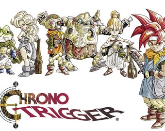 Chrono Trigger , Multiple Sizes Available, Video Game Poster