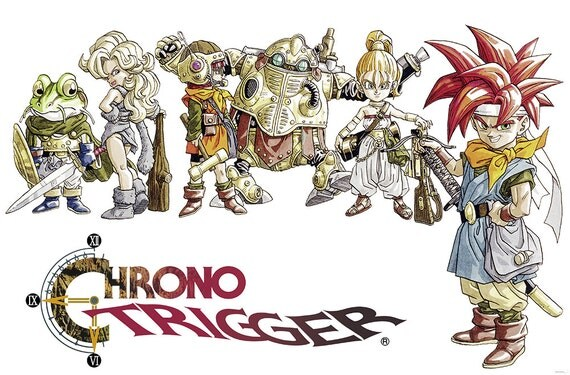 Chrono Trigger Multiple Sizes Available Video Game by kitschaus