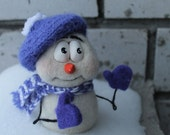 Christmas - Toys - Figurine - Felt doll - Handmade toys - Needle felting - Felt toys - toy - Christmas gifts - Gifts for her - gifts for men