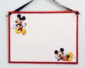 DISNEY . Personalized Wooden MICKEY MOUSE Sign . Wall Decor . Wooden Name Signs