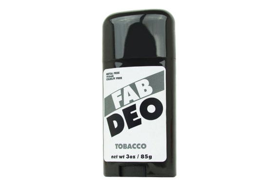TOBACCO Natural Deodorant Deoderant Stick Vegan