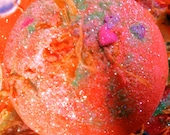 Scintillating  Like Sunshine Detox Vegan Bath Bomb with French Pink Clay, Aloe Vera, Pure Organic Sea Buckthorn Oil, and European Sea Salts