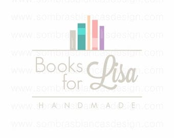 Literature logo | Etsy