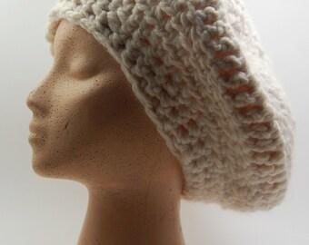 Ratto Comfort's Handmade White Woven Cap