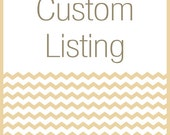 Custom Listing for Rocio