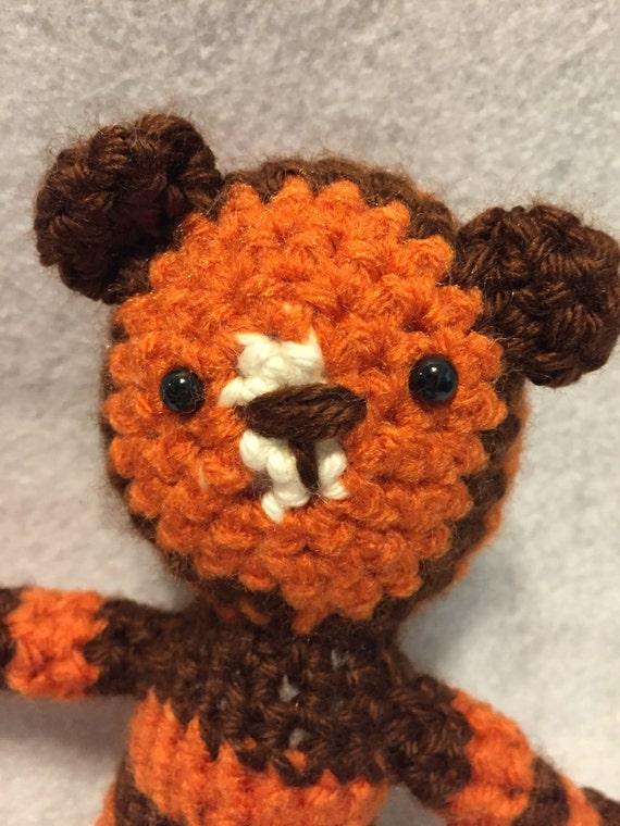 Amigurumi Stuffed Animals : Amigurumi Little Tiger Stuffed Animal by hookedandloopy on ...