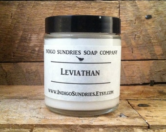Leviathan Body Lotion // Lotion for Men // Handcrafted Body Lotion // Vetiver , Oakmoss Lotion // Men's Lotion // Natural Lotion // Lotion