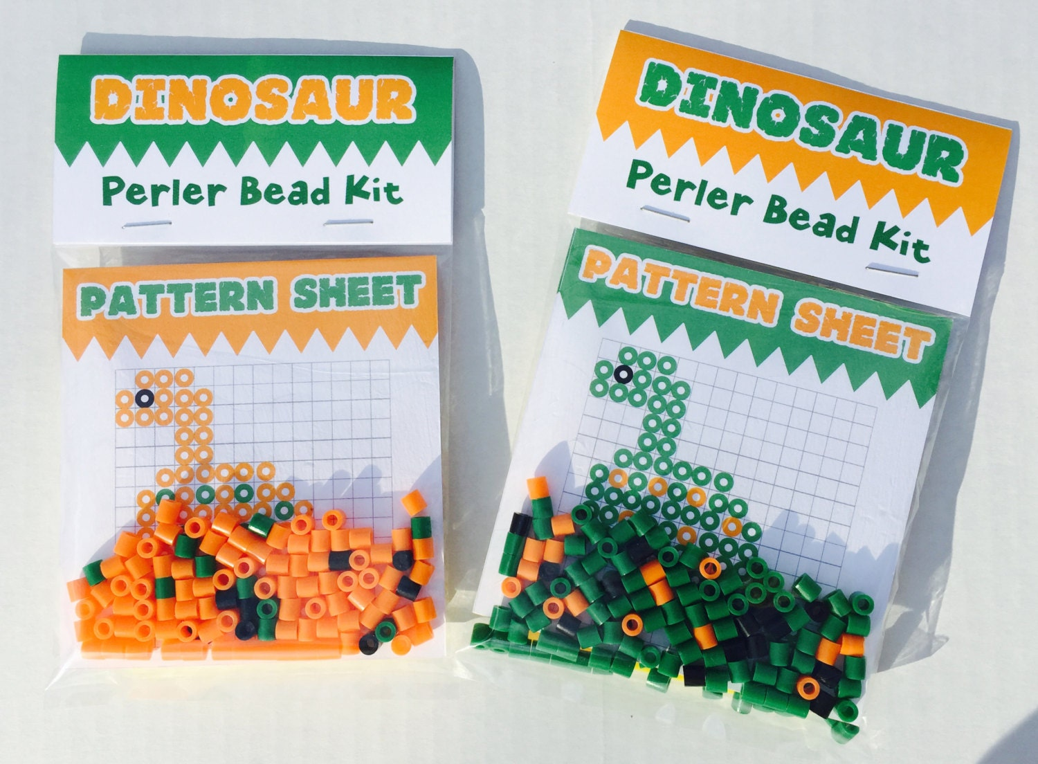 perler bead kit favordinosaurs