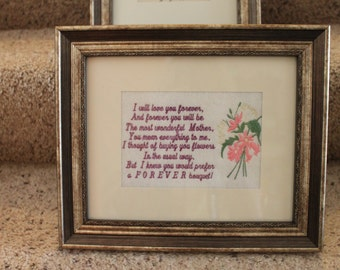 Mother's Day Poem Saying Digitized Machine Embroidery Design Graduation Mom Mum Mother